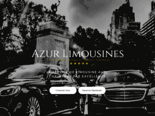 Services de location de limousines privées
