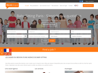 recrelangue-entreprise-de-baby-sitting-paris