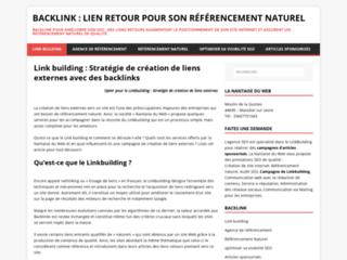 Détails : Agence de link building pour améliorer votre SEO