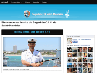 Le Bagad du CIN Saint-Mandrier