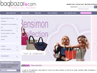 Bagbazar.com, l'univers du sac tendance
