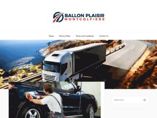 Capture du site http://www.ballon-plaisir-montgolfiere.com/