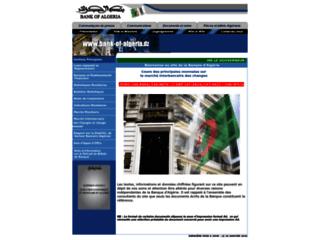 Bank Of Algeria - Banque d'Algérie