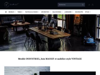 Détails : Mobiliers design industriels