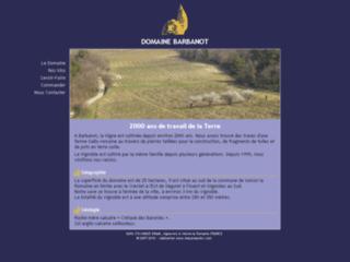 Week end oenologique à Vaison la Romaine (Vaucluse): Domaine BARBANOT