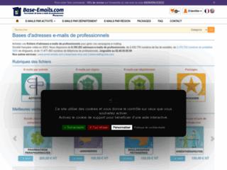 Détails : base de données email b2c et b2b