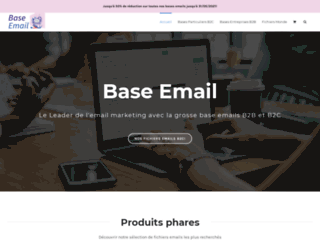 Fichier email france B2B et B2C