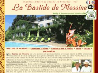 La Bastide de Messine  - Chambres d'Hôtes - Brignoles - Provence