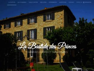 La Bastide des Princes en Provence, chambres d'hôtes  de charme, cours de cuisine en Provence. Week end en Provence dans le Vaucluse.