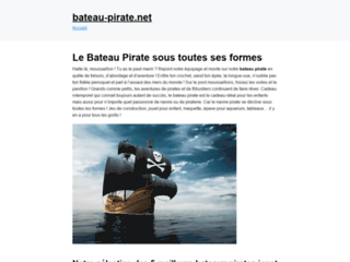 Les meilleurs bateaux pirates pour enfant