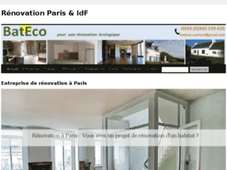 Détails : bateco-renovation-paris.fr