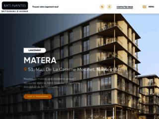 Aperçu du site Bati Nantes