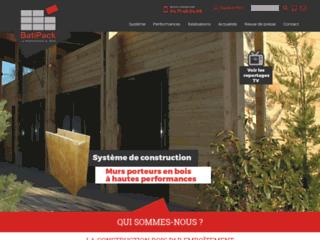 Batipack - Construction de maisons écologiques en bois
