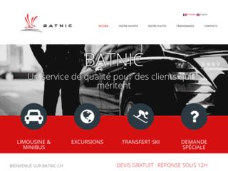 Batnic : Location des limousines et minibus Genève