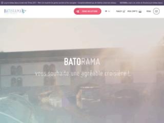 Capture du site http://www.batorama.fr/