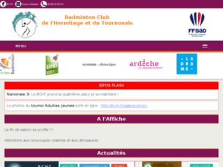 Club de badminton BCHT de Tain & Tournon (Drôme et Ardèche)