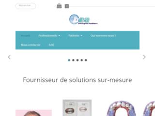 Vente et fabrication de produits dentaires sur http://www.beassistance.fr