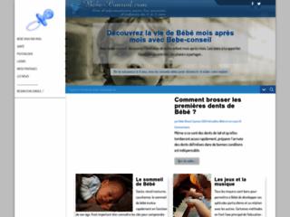 Bebe Conseil - Site d'informations sur les Bébés de 0 à 3 an