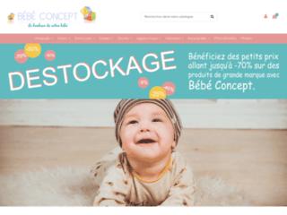 Magasin en ligne de puériculture pour bébé