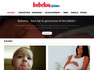 Capture du site http://www.bebetou.com