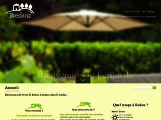 Capture du site http://www.bedou.com