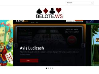 Comparateur de sites de belote en ligne