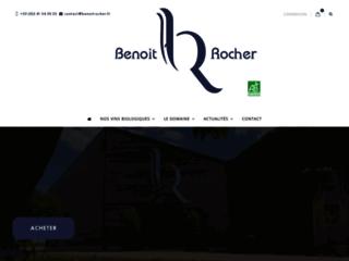 Vins d'Anjou Benoit Rocher