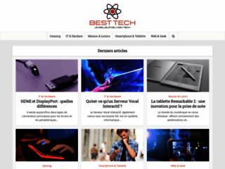 Aperçu du site BestTech