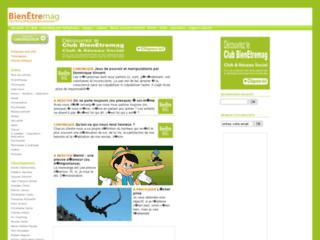 BienEtremag.com : bien être et développement perso sur http://www.bienetremag.com
