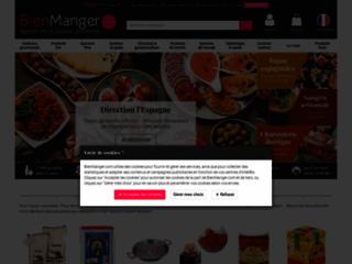 Capture du site http://www.bienmanger.com