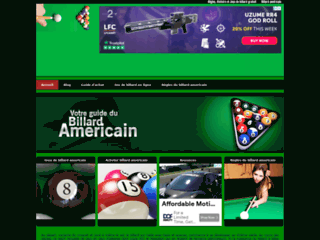 Détails : Billard Americain : règles, vidéos et boutique de billard en ligne