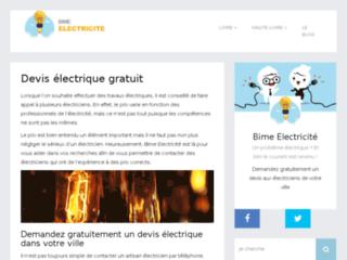 Bime Electricité : devis gratuit
