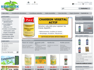 Compléments alimentaires et cosmétiques naturels sur http://www.bioboutik.com
