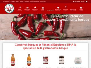 condiments et épices basques