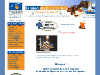 Biscuiterie des Iles - galettes traditionnelles