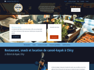 Restaurant, snack et location de canoë-kayak à Clécy