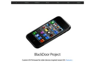 Info: Scheda e opinioni degli utenti : BlackDoorProject.com - Progettazione e Download Firmware Jailbreak iphone 2G 3G