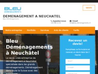 Bleu Déménagements Neuchâtel: Entreprise de déménagement