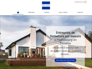Bleu Klein, société de menuiserie en Moselle