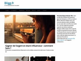 Détails : site www.bligg.fr
