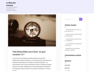 Détails : Le Blog des Artisans | Des informations générales et techniques pour les artisans et les particuliers.