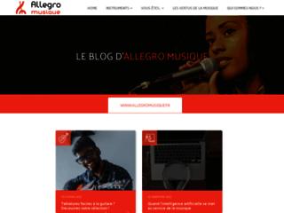 Détails :     Allegro musique