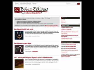 Capture du site http://blog.bijoux-ethiques.com/
