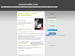 Image Blog de cours2maths.com