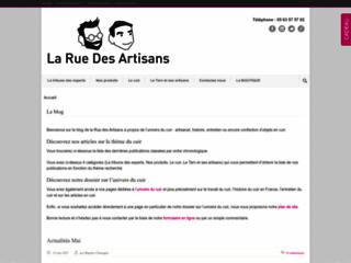 Aperçu du site La rue des artisans
