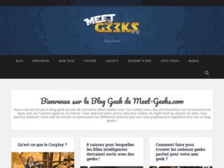 Détails : Blog geek