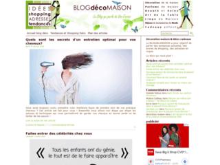 Blog pour les passionnées de déco, cuisine et loisirs créatifs