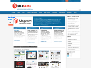 blog e-commerce magento