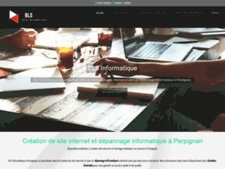 Création de site internet et dépannage informatique à Perpignan
