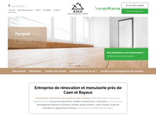 Détails : BMH Rénovation